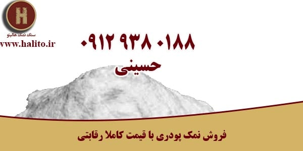 قیمت نمک پودری