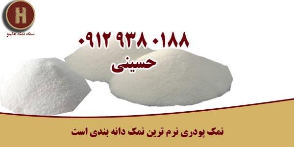 فروش نمک پودری