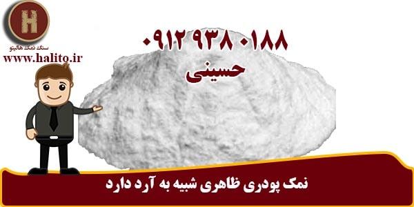 کارخانه تولید نمک پودری