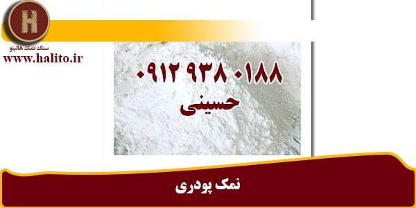 تولید نمک پودری