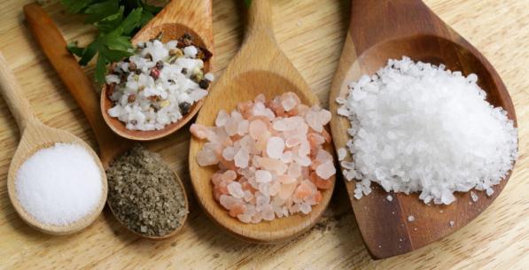 انواع مختلف نمک صنعتی موجود در بازار